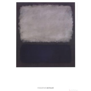 Mark Rothko Blue & Gray 2015 Poster For Sale