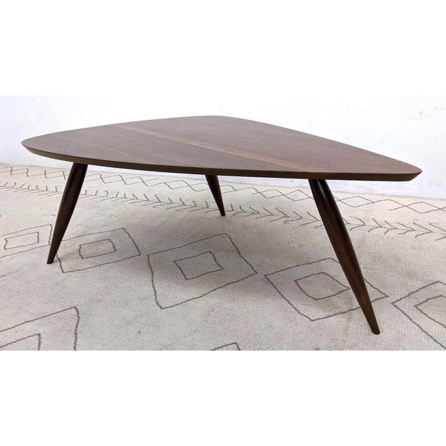 Wood 1960s Mid Century Walnut Cocktail Table For Sale - Image 7 of 9