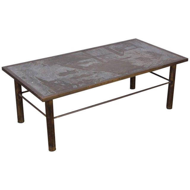 Philip and Kelvin LaVerne Chan Coffee Table For Sale