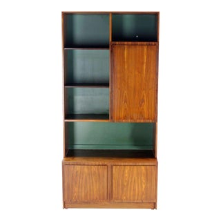 Vladimir Kagan Mid-Century Danish Modern Rosewood Wall Unit Shelves For Sale