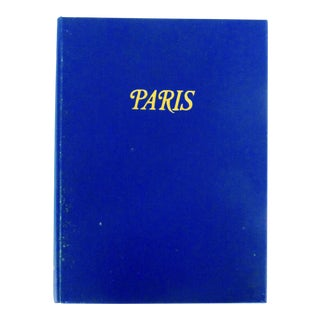 """Paris, 1957"" Illustrated Hardcover Book"