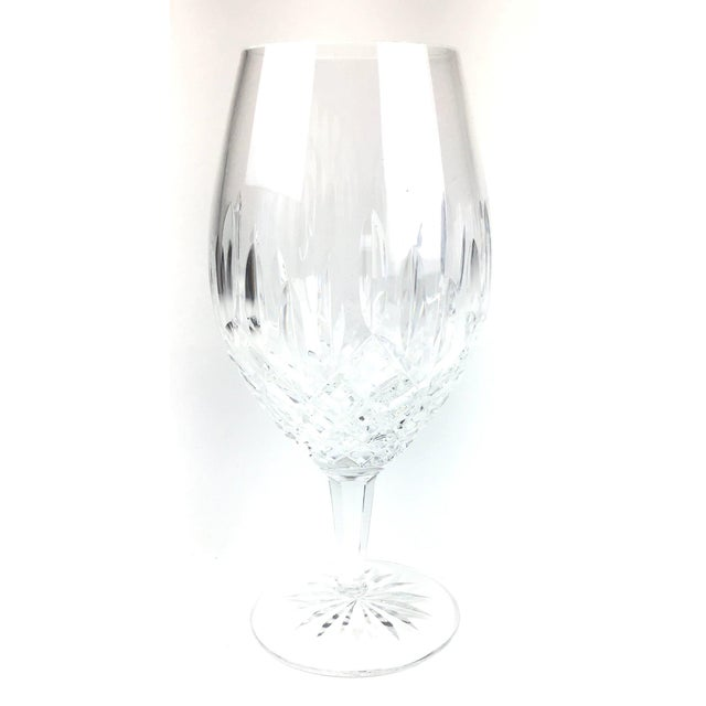 Cut Crystal Heavy Water Glasses - Set of 4 For Sale In Portland, ME - Image 6 of 10