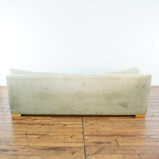 2010s CB2 Piazza Storm Upholstered Sofa For Sale - Image 5 of 7