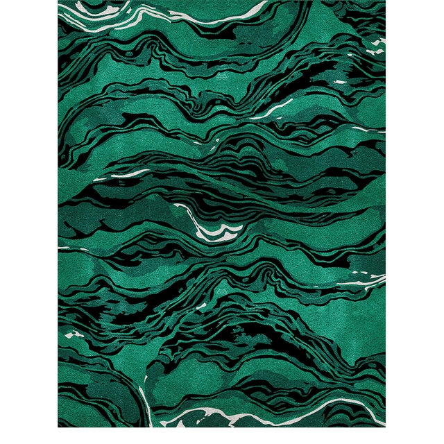 Modern Amazon Botanical Rug From Covet Paris For Sale - Image 3 of 3
