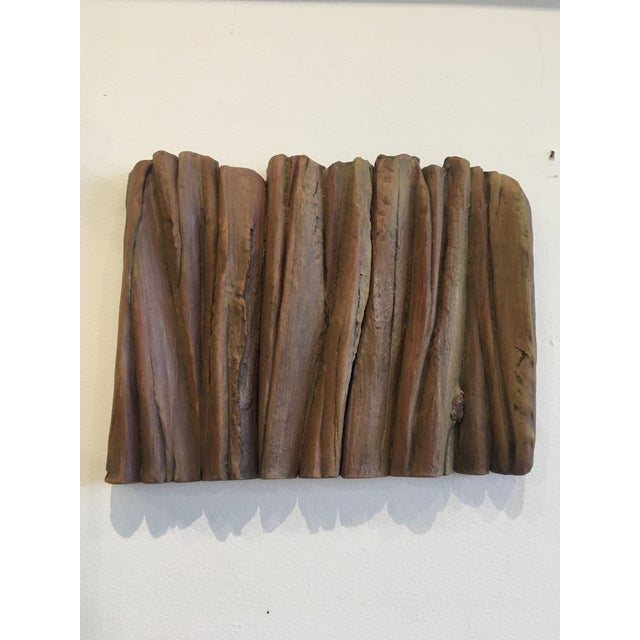 Ceramic Waves Wall Sculpture - Image 3 of 5