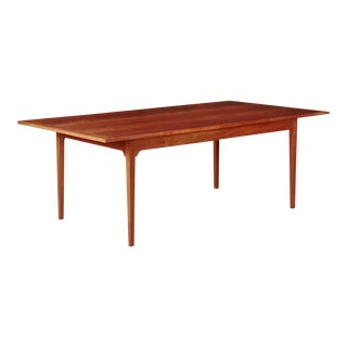 Shaker Style Handmade Cherry Dining Room Table w/ Pegged Joints