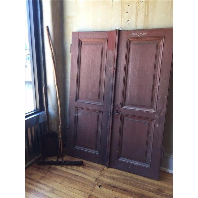 Italian Antique Cellar Doors For Sale - Image 9 of 9