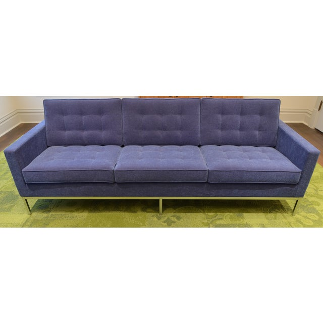 Florence Knoll 3 Seat Sofa - Image 2 of 11