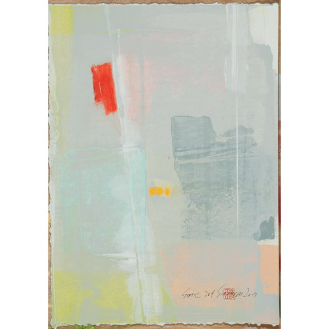 2010s Abstract Expressionist Painting, Static 284 For Sale - Image 5 of 5