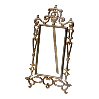 Vintage European Table Easel Frame For Sale