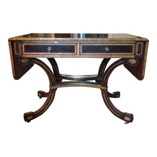 Henredon Regency Library Table For Sale