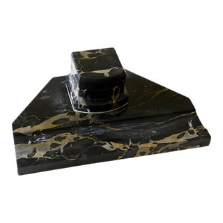 19th Century Marble Inkwell For Sale
