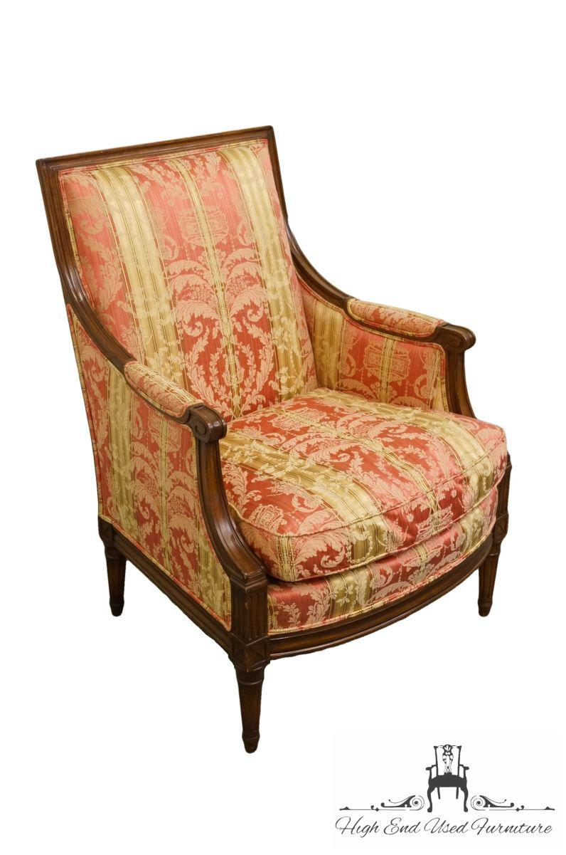 Incroyable We Specialize In High End Used Furniture That We Consider To Be At Least An  8. French 20th Century Louis XVI Henredon Furniture Upholstered Accent Arm  ...