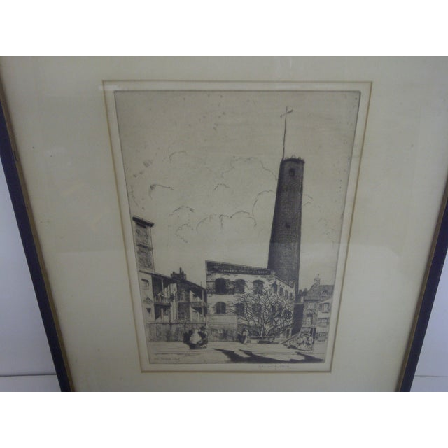 """Industrial """"Baltimore"""" Drawing by John McGrath, 1930 For Sale - Image 3 of 6"""