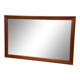 Solid Cherry Mirror by Willett For Sale