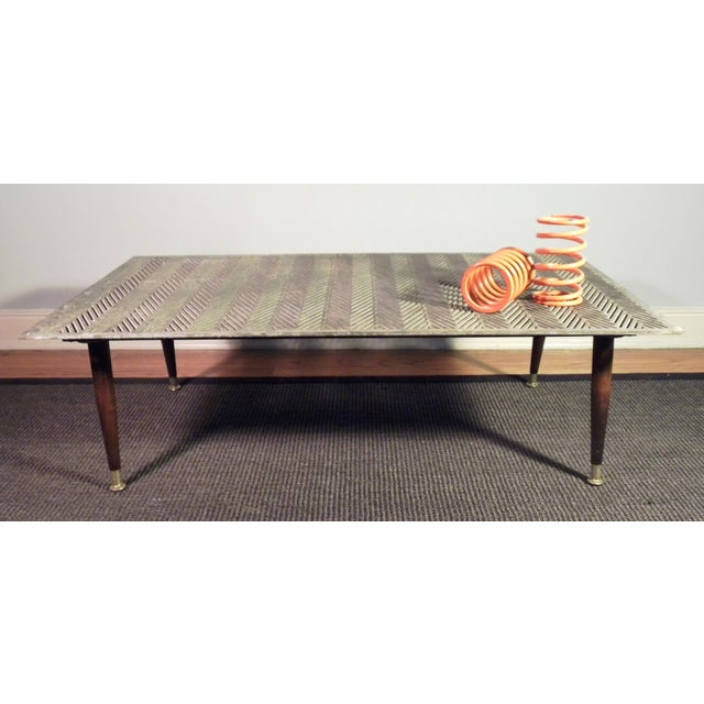 Industrial Up Cycle Coffee Table - Image 9 of 9