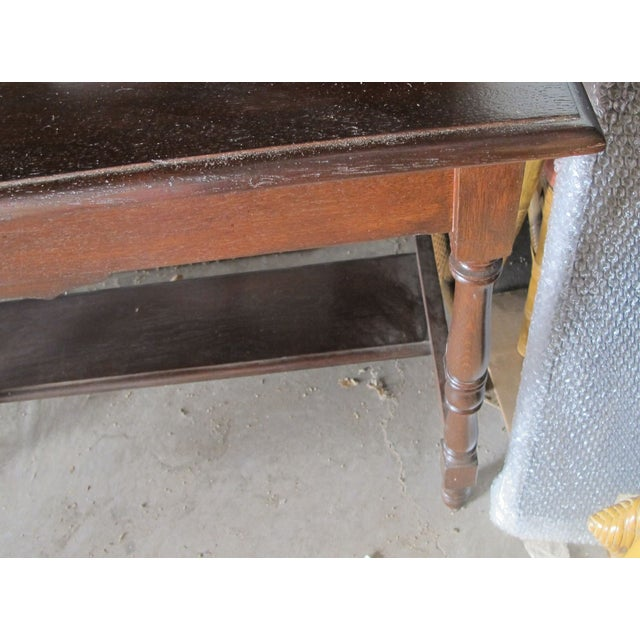 Antique Writing Desk - Image 7 of 8