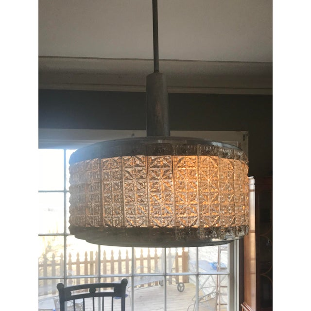 Mid-Century Modern Mid-Century Modern Chrome Chandelier For Sale - Image 3 of 6