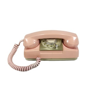 Pink Princess Rotary Telephone