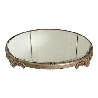 Art Nouveau Mirror Plateau For Sale
