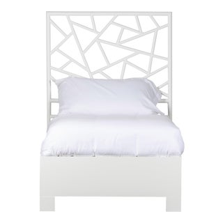 Tiffany Bed Twin Extra Long - White For Sale