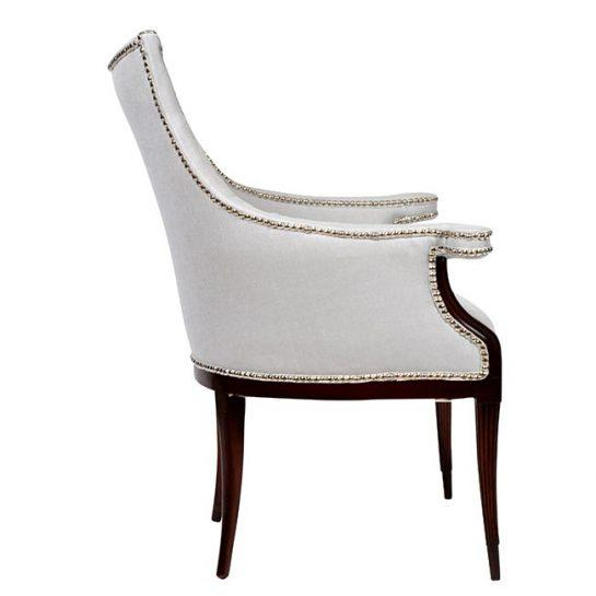 Vintage Art Deco Club Armchairs- a Pair For Sale In Houston - Image 6 of 11