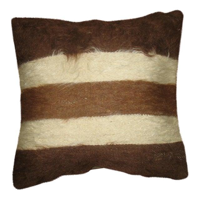 Mohair Kilim Rug Pillow For Sale