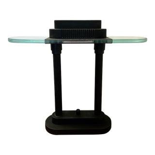 Post-Modern Kovacs Style Banker's Lamp For Sale