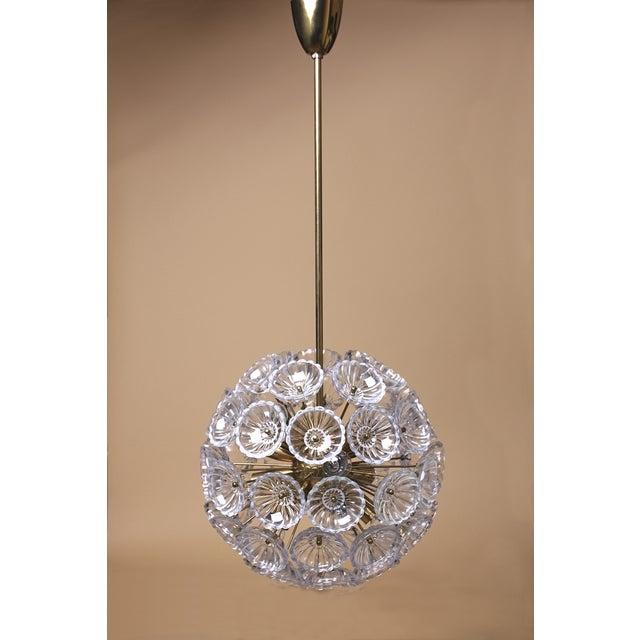 Austrian Dandelion Flower Sputnik Pendant - Image 6 of 9
