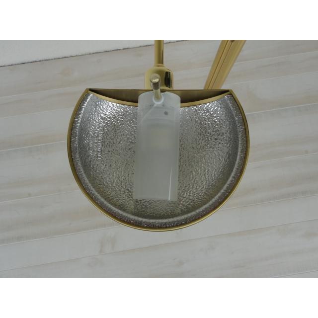 Metal Holtkoetter Brass Dual Swing Arm Floor Lamp For Sale - Image 7 of 13