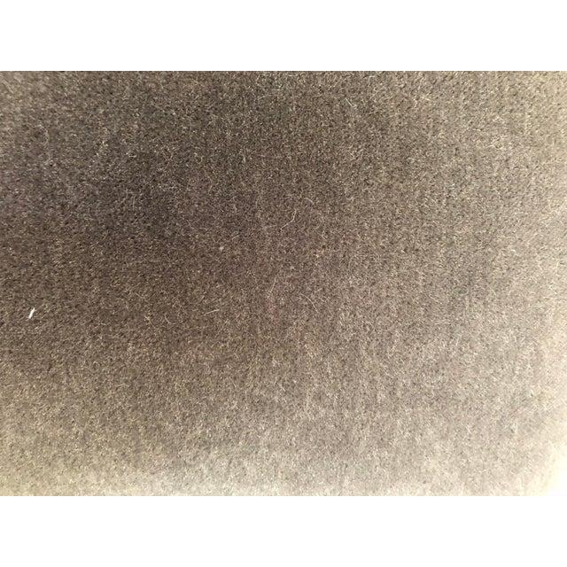 Contemporary Maharam Mohair Lumbar Pillow Cover For Sale - Image 3 of 4