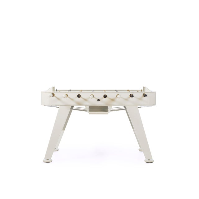 The RS2 football table is our original model, aking the football table out of the garage and moving it into the spaces...