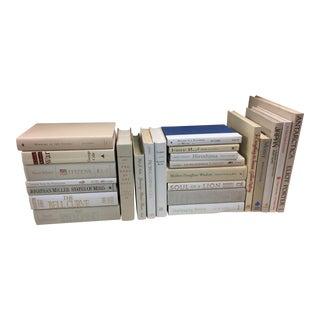 Cream and White Decorative Books 24 Book Lot