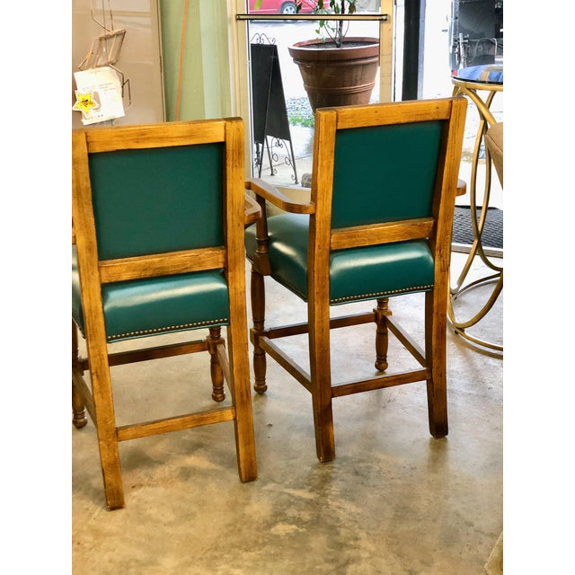 """2010s Modern Fairfield Ramsey 24"""" Bar Stool- A Pair For Sale - Image 5 of 6"""