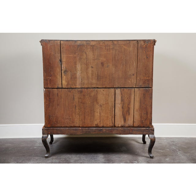 18th Century Danish Rococo Walnut Chest of Drawers For Sale - Image 4 of 9