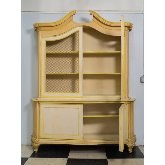 1960s Large Italian Painted Cabinet Once Owned by Elizabeth Taylor For Sale - Image 5 of 6