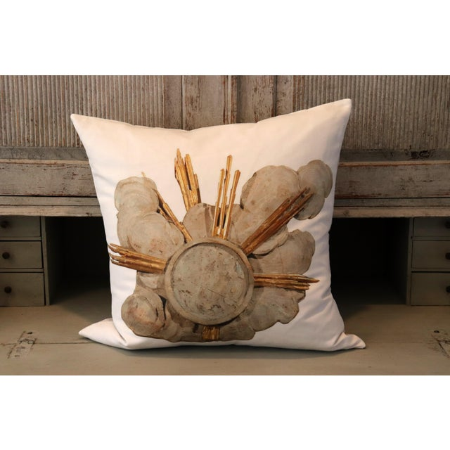 French Cathedral Altar Fragment Photo Pillow For Sale - Image 10 of 13