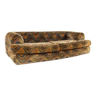Mid Century Modern Milo Baughman for Thayer Coggin Sofa For Sale