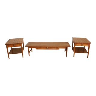 "Mid-Century ""Heritage"" Coffee & End Tables - Set of 3 For Sale"