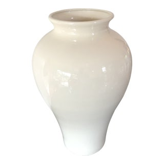 Massive Contemporary Vintage Vase by Haeger For Sale