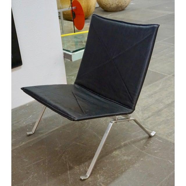 Poul Kjaerholm Pk 22 Lounge Chairs by Poul Kjaerholm - a Pair For Sale - Image 4 of 11