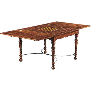 Scarborough House Hand Distressed Game Table For Sale