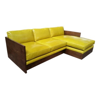 Modern Norton Chaise Sectional Sofa For Sale