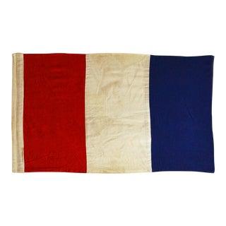 "Framed Signal Flag ""T"" For Sale"