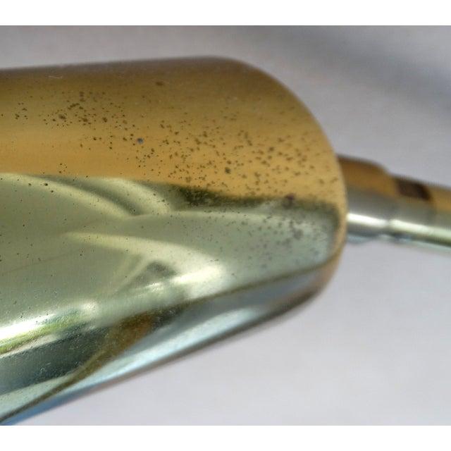 Koch & Lowy Brass Swing Arm Floor Lamp - Image 10 of 11