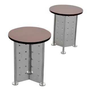 Mid-Century Modern Philippe Starck Occasional Tables - a Pair For Sale