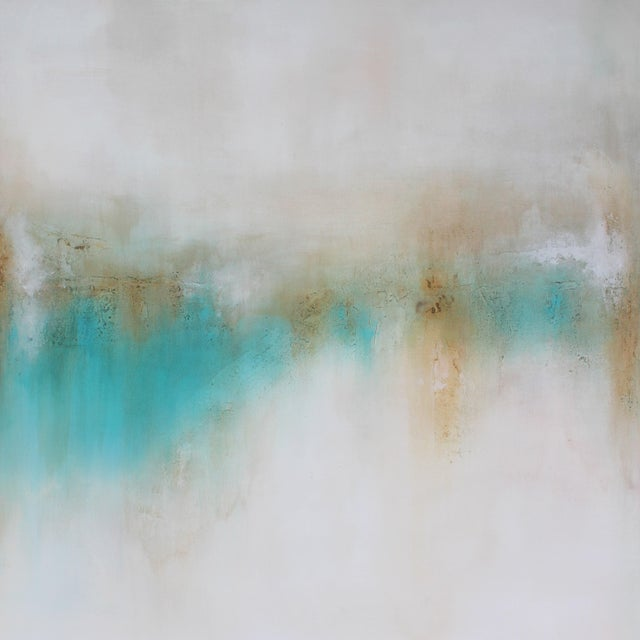 """Wonderland"" Original Abstract Painting - Image 1 of 2"