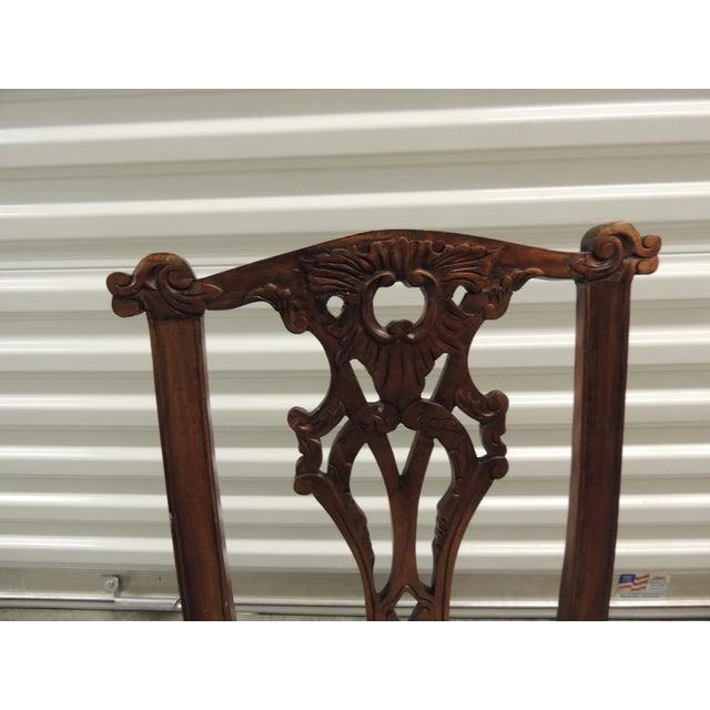 Vintage Carved Wood Children Chair - Image 5 of 5