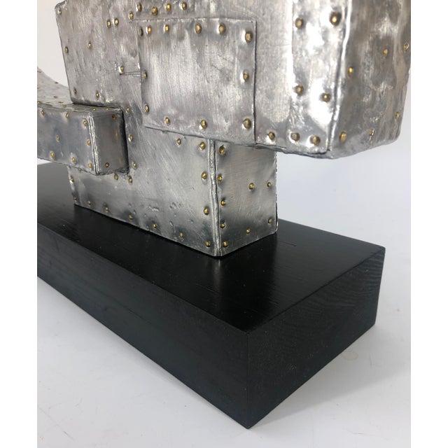 War Machine Original Abstract Sculpture by Adam Henderson For Sale - Image 4 of 9