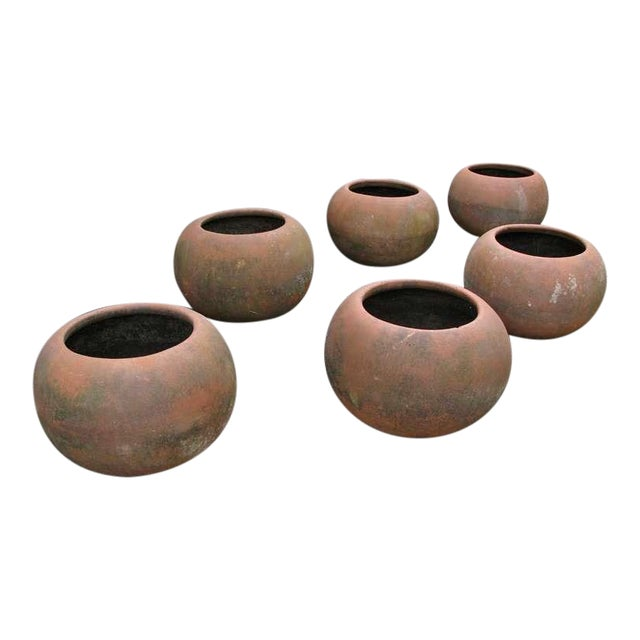 Mid-Century Mexican Terracotta Pots - Image 1 of 10